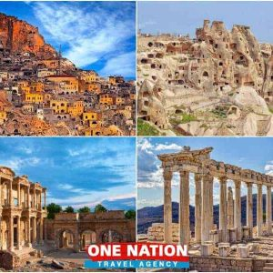 4 Days Cappadocia Ephesus and Pergamon Tour