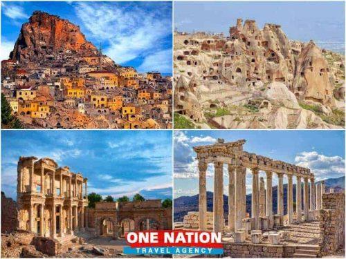 4 Days Cappadocia Ephesus and Pergamon Tour