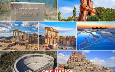 9 Days Gallipoli, Troy, Pergamon, Ephesus, Pamukkale Antalya and Cappadocia Tour