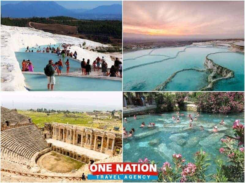 Pamukkale Day Tour from Denizli Airport