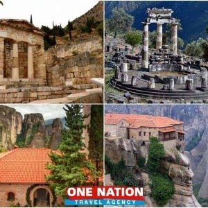 Athens to Delphi and Meteora Trip