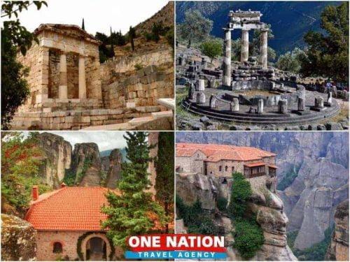 Athens to Delphi and Meteora Trip