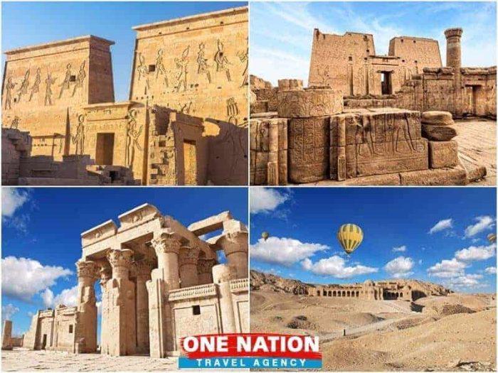 4 Days Luxor Edfu Kom Ombo and Aswan Tour