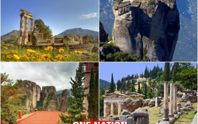 3 Days Delphi and Meteora Tour from Athens