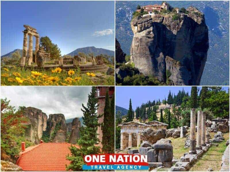 Delphi - Meteora 3 Days Tour
