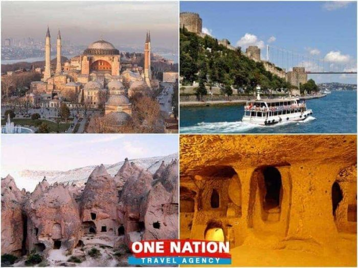 3 Days Istanbul and Cappadocia Tour Package