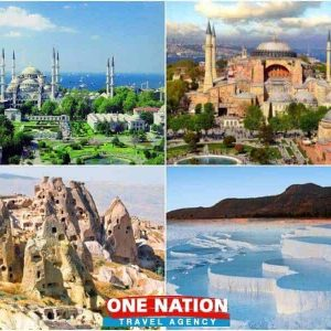 5 days Istanbul Cappadocia and Pamukkale tour package