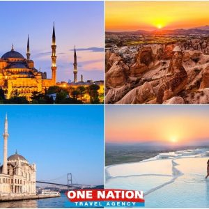 8 Days Istanbul Cappadocia and Pamukkale Tour
