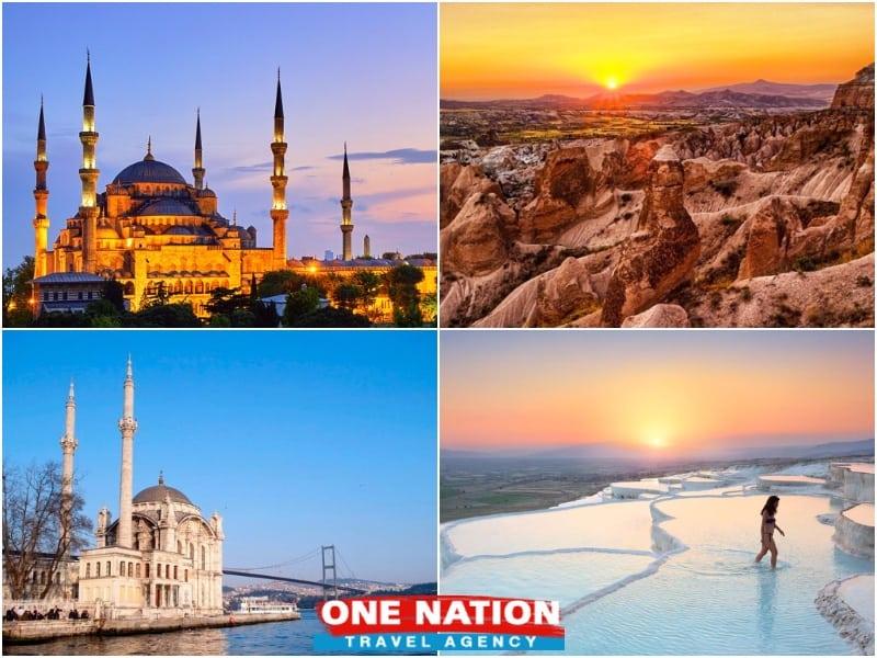 Istanbul Cappadocia and Pamukkale Tour