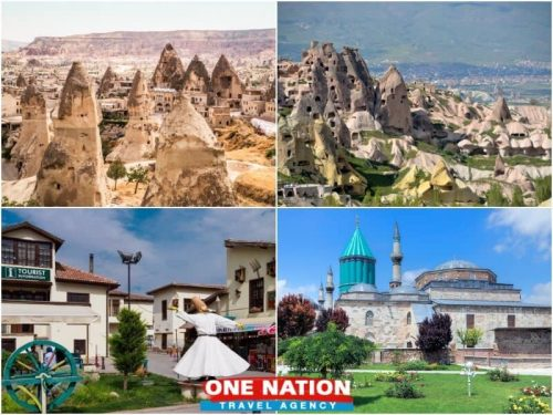3 Days Konya and Cappadocia Tour from Istanbul