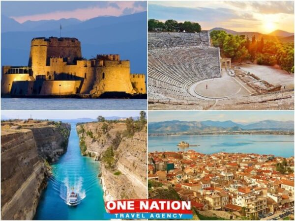 4 Days Nafplio Olympia and Delphi Tour from Athens