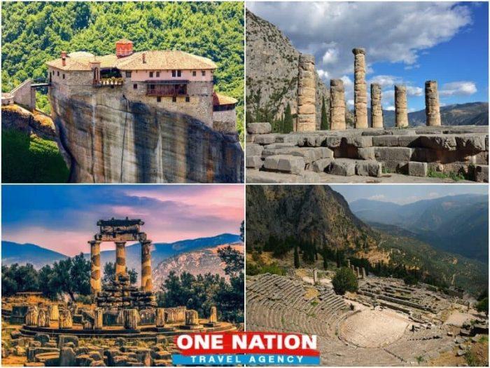 4 Day Tour Olympia, Delphi and Meteora