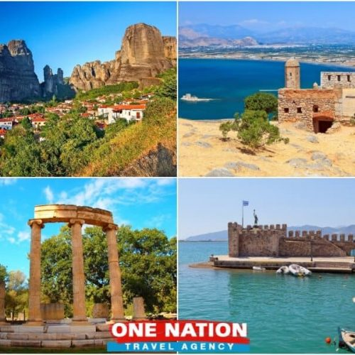 5 Days Nafplion Olympia Delphi and Meteora Tour from Athens