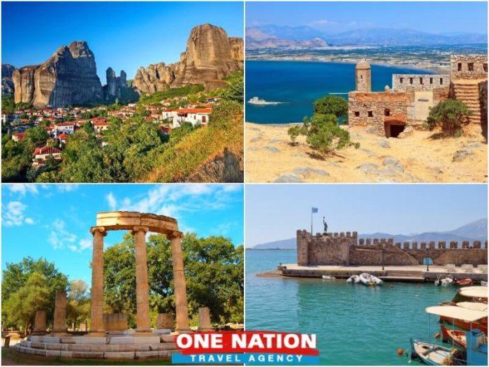 5 Days Nafplion Olympia Delphi and Meteora Tour from Athens