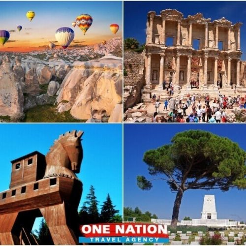 4 Days Cappadocia Ephesus Troy and Gallipoli Tour from Istanbul