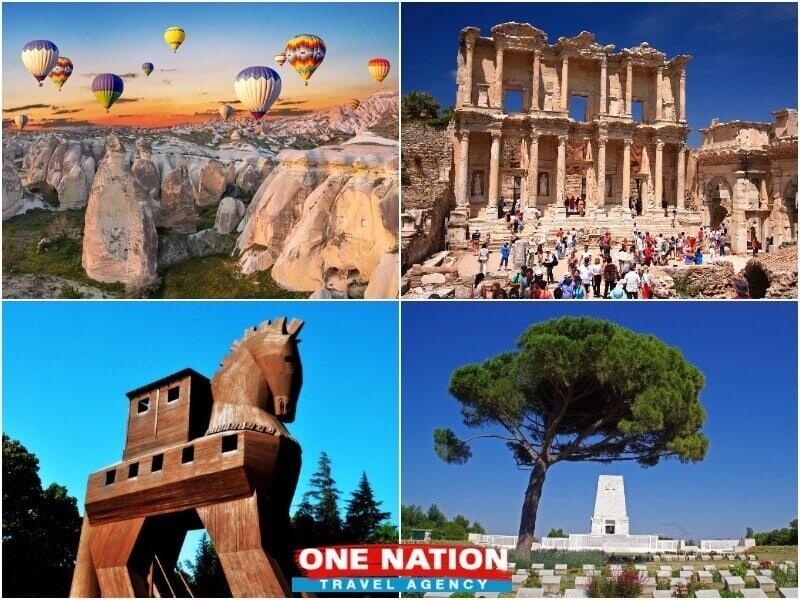 4 Days Cappadocia Ephesus Troy and Gallipoli Tour from Istanbul