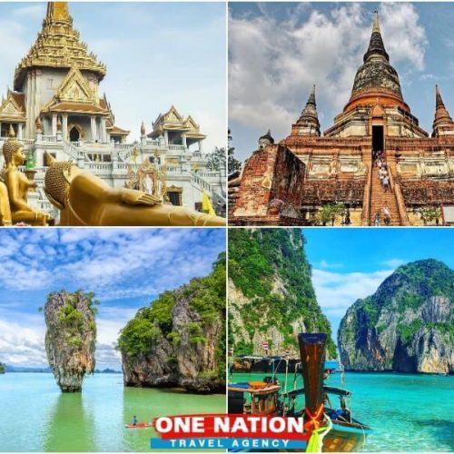 7 days Bangkok Ayutthaya and Phuket tour package