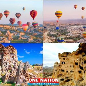 Cappadocia tour from Istanbul with hot air balloon