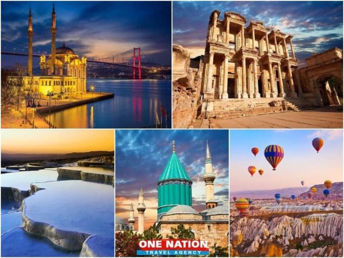 9 Days Istanbul Ephesus Pamukkale Konya and Cappadocia Tour