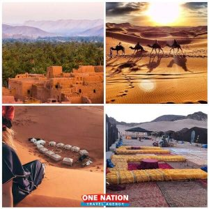 2-Day Desert Tour from Marrakech through the Atlas Mountains and Camel ride