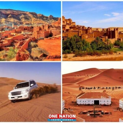 4-Day Private Morocco Sahara Tour from Marrakech