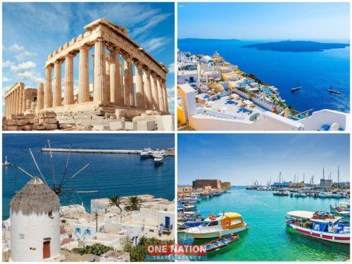 11 Days Athens, Crete, Heraklion (Crete), Milos, Mykonos, Santorini, Turkey, Ephesus and Kusadasi Tour