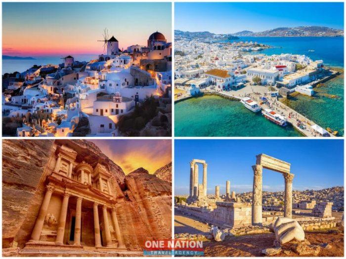 15-Day Greece and Jordan Tour
