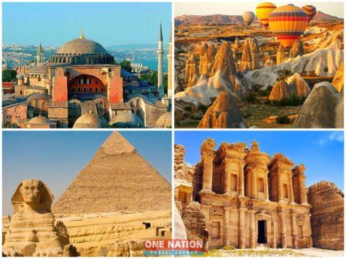 15-Day Turkey, Egypt and Jordan Combination Tour