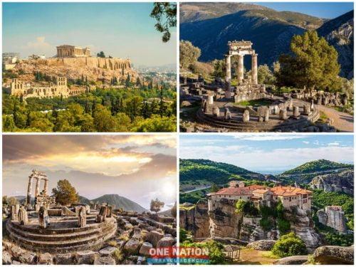 7-Day Athens, Olympia, Delphi and Kalambaka Tour