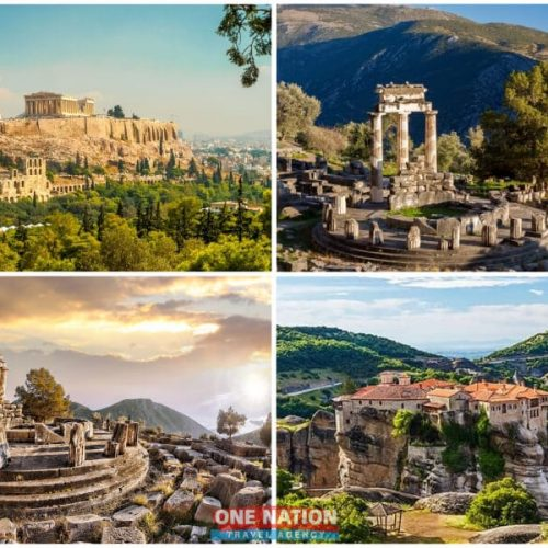 7-Day Athens, Olympia, Delphi and Kalambaka Tour