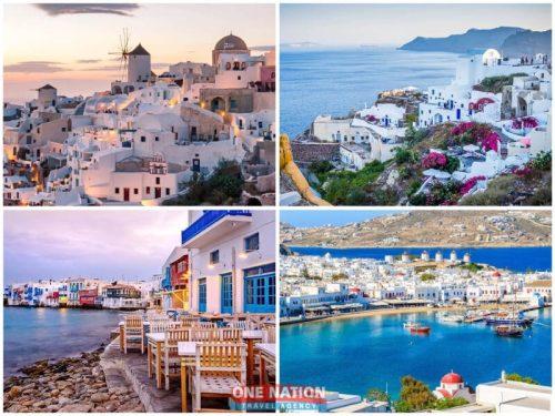 7-Day Greek Island Hopping Tour of Mykonos and Santorini