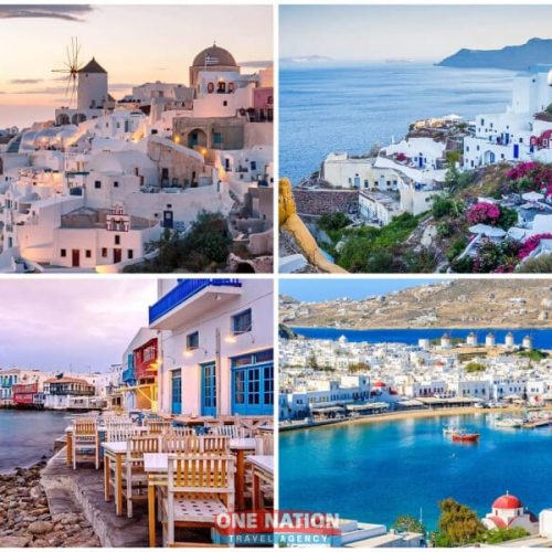 7-Day Greek Island Hopping Tour of Mykonos and Santorini