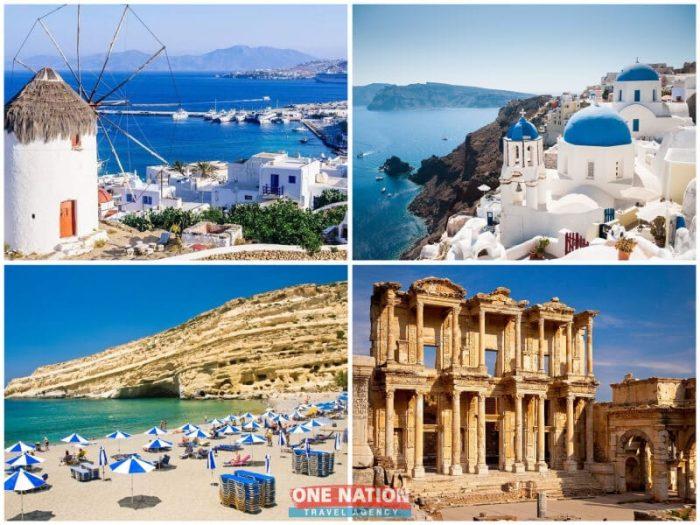 7 Days Athens, Crete, Heraklion (Crete), Mykonos, Patmos, Rhodes, Santorini and Kusadasi Tour