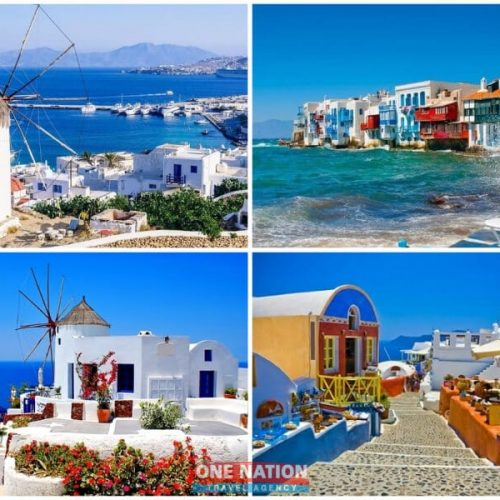 8-Day Greek Island Hopping Tour of Athens, Mykonos and Santorini