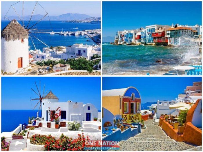 8-Day Greek Island Hopping Tour of Athens, Mykonos and Santorini
