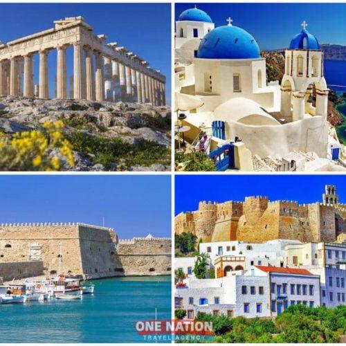 8 Days Athens, Crete, Heraklion (Crete), Mykonos, Patmos, Santorini and Kuşadasi Tour