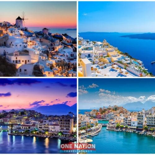 9-Day Greek Island Hopping Tour of Athens, Santorini and Crete