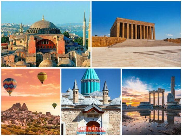 10 Days Private Tour of Istanbul Ankara Cappadocia Konya and Antalya