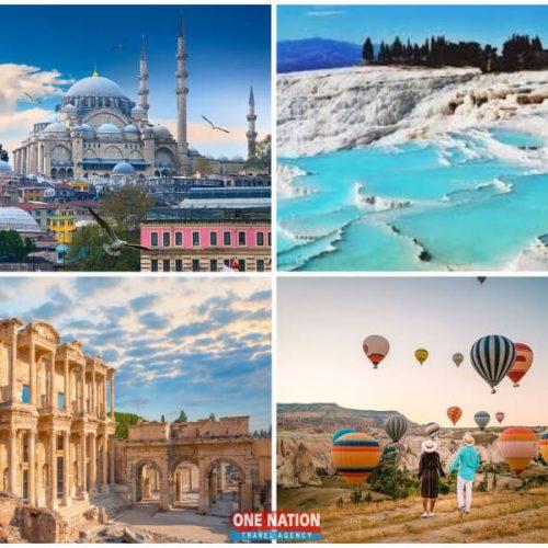 8 Days Private Tour of Istanbul, Ephesus, Pamukkale and Cappadocia