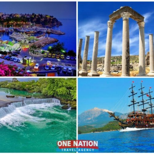 4 Days Antalya Tour from Istanbul