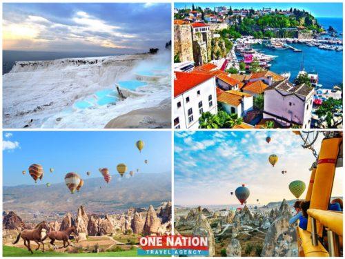 7 Days Pamukkale, Antalya and Cappadocia Tour from Istanbul