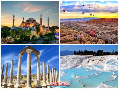 10-day Istanbul Cappadocia Antalya and Pamukkale tour
