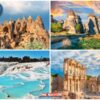 4-Day Cappadocia, Pamukkale and Ephesus Tour from Kayseri Airport